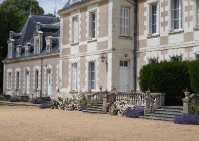 Les Belles Ruries, château tourangeau gîte d'hôtes