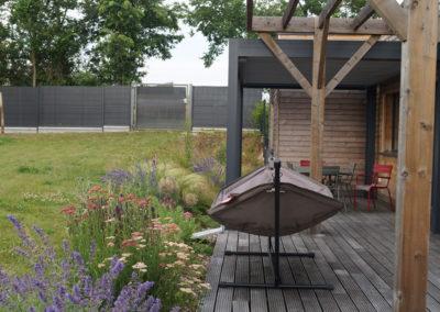 un jardin écologique