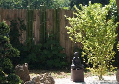 un jardin japonisant