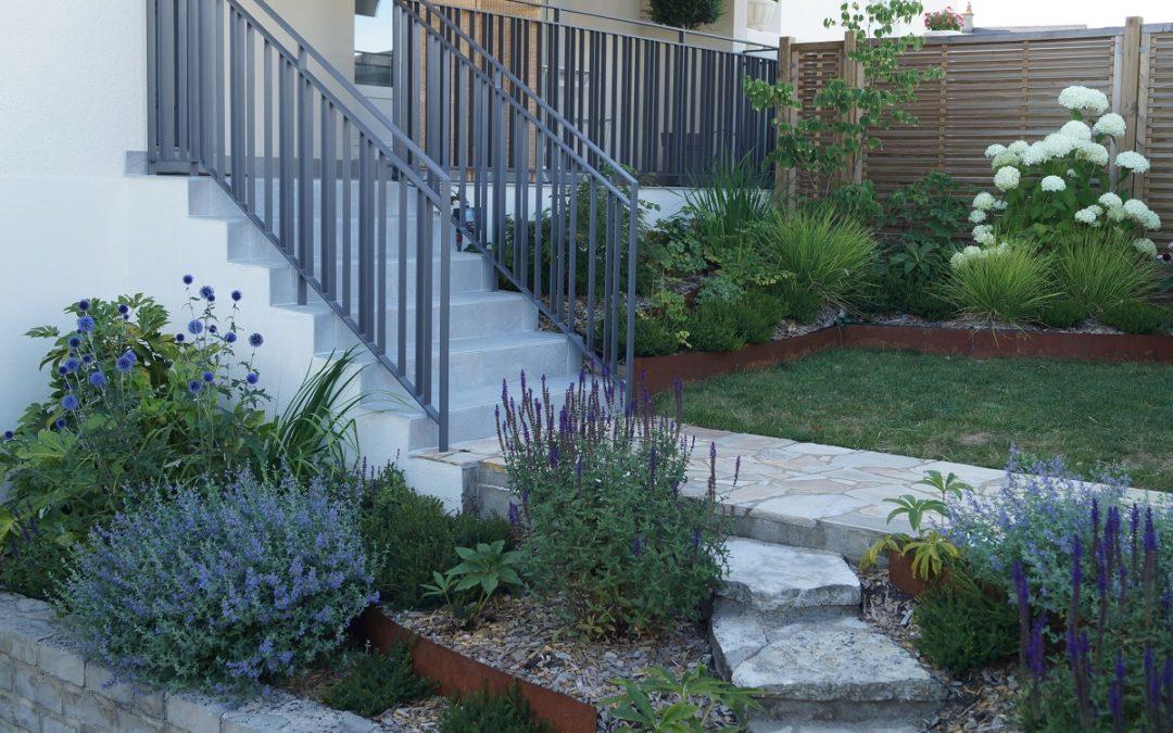 Comment concevoir un beau jardin d'accueil